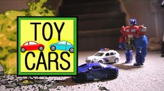 TOY CARS Hot wheels Action RC Police Chase + DINOSAURS!
