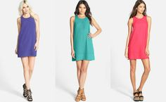 Spring is coming and shift dresses are #trending: www.teelieturner.com  Which color would you get? #fashion