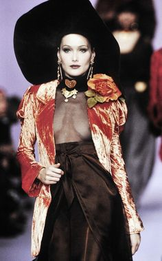 Christian Lacroix Runway Fall Winter 1993 1994