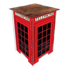 Banco Telefone Londres