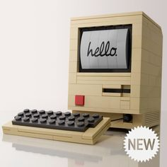 First Macintosh Lego Edition.    A Lego retro computer building kit custom designed by Chris McVeigh. 202 pieces, shipped in a sturdy cardboard box. Building instructions are available at http://chrismcveigh.com.    $62.50