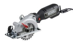 """Rockwell 4-1/2"""" Compact Circular Saw, 5 amps, 3500 rpm, with Dust Port and Starter Kit- RK3441K"""