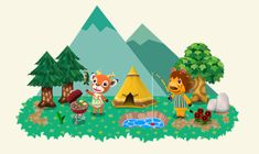 In Arbeit! - Animal Crossing New Leaf