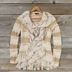 Caravan Lace Sweater, Sweet Bohemian Sweaters
