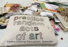 July 2014 Travel Update: Random Acts of Art Adventure Visit Tennessee, Art Therapy Directives, Creative Connections, Travel Journals, Random Acts, Heart Art, Crafty Craft, Therapy Ideas, Creative Art