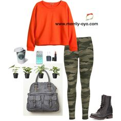 "http://www.merrily-oyo.com/  ""CASUAL"" by merrily-shop on Polyvore"