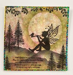 Sky Pixie Clear Stamp by Lavinia Stamps (4017465) Holographic Paper, Ink Link, Lavinia Stamps Cards, Christmas Tree Fairy, Beautiful Fairies, Childrens Gifts, Xmas Cards, Creative Cards, Clear Stamps