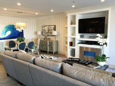 Custom Great Room In San Diego Meridian Remodelanna Rodé Amazing The Living Room San Diego Decorating Inspiration