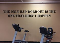 Workout Motivation Accessory Gym Wall Decal Home by JandiCoGraphix