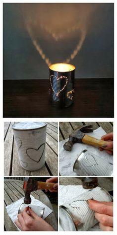 How to make tin lanterns