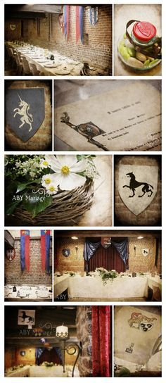 Mariage médiéval moodboard    http://www.abyweb.com/mariages/public/2011/septembre/mariage_banquet_medieval_normandie.jpg