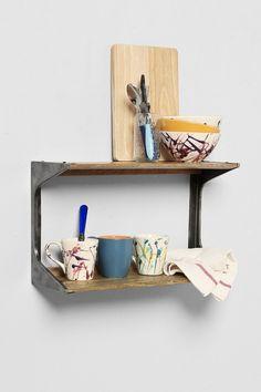 4040 Locust Tiered Wall Shelf
