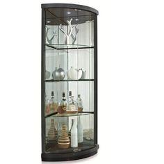 New Spec Corner Curio Cabinet & Reviews | Wayfair