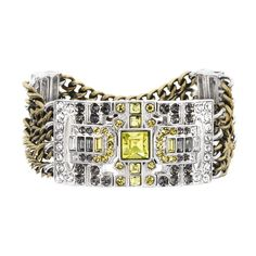 Art Deco Metal Stretch Bracelet - Chloe + Isabel Estate Vintage Collection #autumncollection #prettyjewels http://ashleywicks.chloeandisabel.com