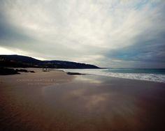 Playa de Razo, Carballo. Coruña, España. Es la 2ª playa mas grande de Galicia con 4 km de playa By Carmen Martínez