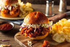 Celebrate National Vegetarian Week with a vegan pulled jackfruit burger - it's surprisingly delicious.