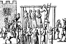 """The hanging of the """"Salem for the crime of witchcraft. Not a snapshot, exactly, I know.so sue me. The Witcher, Portsmouth, Facts About Witches, Carta Real, Yasmine Galenorn, Papua Nova Guiné, Maleficarum, Salem Witch Trials, Ghost Hunting"""