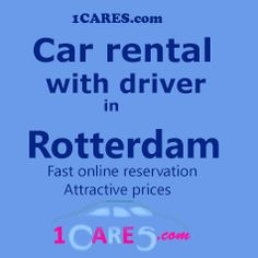 Hire a car with driver in Rotterdam. #carhireRotterdam,#Rotterdam,#travel,#tips ,#rental,#Rotterdamtrip,#limousineserviceRotterdam,#Rotterdamchauffeurservice,#privatedriver,#airporttransfer,#Netherlands