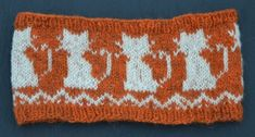 Headband 'Cats' pattern by Ann Linderhjelm Sport Weight Yarn, Cat Pattern, 2 Ply, Double Knitting, Needles Sizes, Sewing, Cats, Crochet, Ravelry