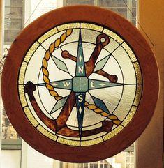 #Nautical window made locally @Vintage Hardware.