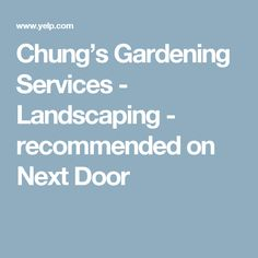 Chungu0027s Gardening Services   Landscaping   Recommended On Next Door