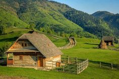 Romania is a famous country in the Balkan community of the European continent. Romania is situated a. Villas, Little Cabin, Back Road, Cabins And Cottages, Old Houses, Barn Houses, Tiny Houses, Romania, The Great Outdoors