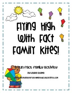 This is a basic Fact Family math review activity. Students match up kites with their coordinating Fact Family bows. Activity sheet included....