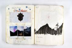raspberrymilk:  Visual Diary (by Mark Oliver Adams)