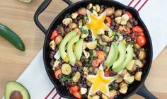 Savor plant-based living with this delicious recipe from Daiya. All of our foods are free of dairy, soy, gluten, eggs and peanuts. Great Vegan Recipes, Egg Free Recipes, Vegan Dinner Recipes, Vegan Meals, Plant Based Breakfast, Breakfast Hash, Vegan Breakfast, Sweet Potato Skins, Dairy Free Cheese
