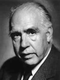 Niels Henrik David Bohr (October 7, 1885 - November 8, 1962) was a Danish physicist who made fundamental contributions to understanding atomic structure and quantum mechanics, for which he received the Nobel Prize in Physics in 1922.