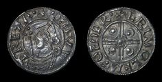 Genuine Old English Hammered Anglo Saxon King Canute (Cnut) Solid SIlver Antique Penny Coin 1024 - 1 Ancient Egyptian Art, Ancient Aliens, Ancient Greece, European History, American History, Anglo Saxon Kings, Silver Penny, Penny Coin