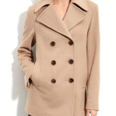 Fleurette wool pea coat. Yummy!