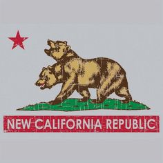 New California Republic t-shirt design | Fallout