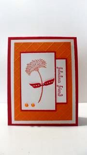 Peanuts and Peppers Papercrafting: Try It Thursday - Stampin' Up Reason To Smile Fabulous Friend Card