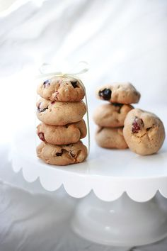 Cranberry macadamia cookies by Call me cupcake, via Flickr