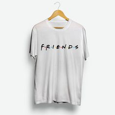 bf8282389a00 For Sale Friends TV Show Logo Cheap T-Shirt For Men's And Women's