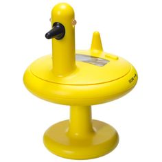 Alessi Duck Timer, I thought this was silly but it is actually a really functional kitchen time that ads some fun and color to the kitchen. When this thing quacks you know dinner is ready and you can serve it with a smile.
