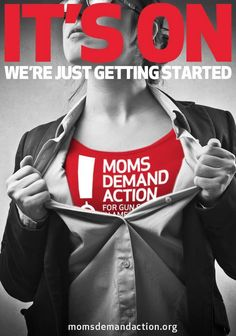 3. Superhero stay-at-home mom, Shannon Watts, demands action and becomes a game changer on calling for common sense gun safety measures | Community Post: Top 17 Mom Moments From 2013