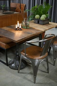 Create your own café table from our wide range of bases and tops Table Tops And Bases, Cafe Tables, Create Your Own, Restoration, Dining Table, Range, Furniture, Home Decor, Refurbishment