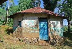 Ethiopia An abandoned synagogue in Gondar, Ethiopia is pictured in Gondar, Ethiopia, on November 19, 2012.