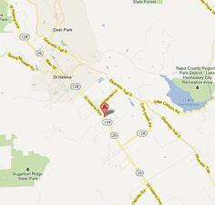Whitehall Lane Winery is located in St. Helena, CA at 1563 St. Here's a map of St. Helena and the surrounding wineries. St Helena, State Forest, Wineries, State Parks, Map, Adventure, City, Wine Cellars, Location Map