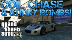 Grand Theft Auto V | MY BEST GTA VIDEO YET! | COIL COP CHASE & STICKY BO...
