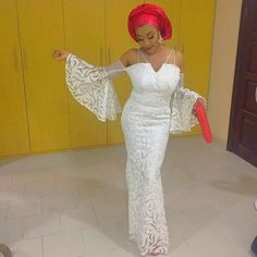 Aso-Ebi is one of those factors that makes the Nigerian weddings lit! You will agree with me that how you present yourself determines how you would be addressed, and of… African Dresses For Women, African Wear, African Fashion Dresses, African Clothes, African Style, African Beauty, African Women, Beautiful Long Dresses, Nice Dresses