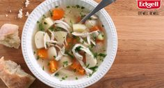 Chicken Soup  The perfect soup to soothe those sniffles this winter.