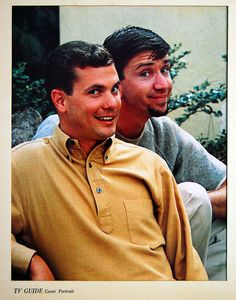 The Many Loves of Dobie Gillis TV Guide Cover Portrait of Dwayne Hickman and Bob Denver 1961