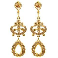 Brinco Dourado Chic https://www.mariasanta.com.br/produto/9602/Brinco-Dourado-Chic