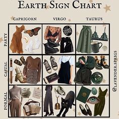 Clothes she wears Capricorn And Virgo, Zodiac Signs Virgo, Aesthetic Fashion, Aesthetic Clothes, Virgo Outfits, Virgo Star Sign, Earth Signs, Cute Cartoon Wallpapers, Character Outfits
