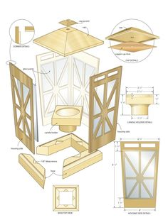 Woodworking Plans: Woodworking Plans Candle Lantern If you really are. Woodworking Plans: Woodworking Plans Candle Lantern If you really are. Woodworking Workshop, Easy Woodworking Projects, Fine Woodworking, Wood Projects, Woodworking Furniture Plans, Woodworking Classes, Intarsia Woodworking, Woodworking Basics, Popular Woodworking