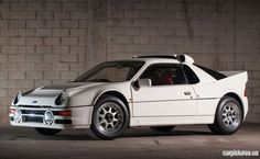 1986 Ford RS200 Evolution 420HP DOHC Turbo homologation rally car.  Fastest production road/ rally car