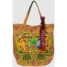 VIVIENNE WESTWOOD ETHICAL FASHION AFRICA Large fabric bag ($79) ❤ liked on Polyvore